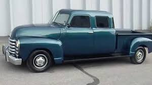 100 1950 Chevrolet Truck RARE Custom Built Double Cab Pickup YouTube