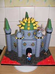 Bowser Pumpkin Stencil Free by Super Mario Bros Bowser Castle Cake Cakecentral Com