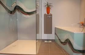 duschrückwand ohne fliesen kreative motive für ihre dusche