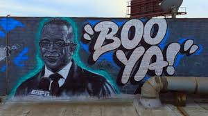 Famous Mural Artists Los Angeles by Stuart Scott Remembered In Los Angeles Mural Other Sports