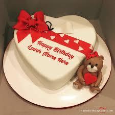 Love Happy Birthday Cake With Name