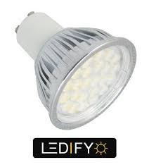 gu10 led 50w halogen equivalent bulbs warm cool white ls