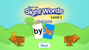 Meet the Sight Words3 Flashcards on the App Store