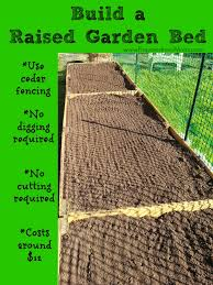 Raised Bed Soil Calculator by Build Raised Beds From Cedar Fencing Preparednessmama