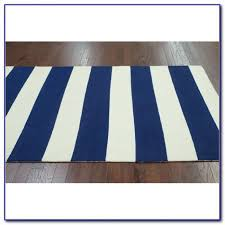 Navy And White Striped Curtains Uk by Navy And White Stripe Dhurrie Rug Rugs Home Design Ideas