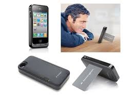 Kensington iPhone Case Uses A Credit Card To Stand