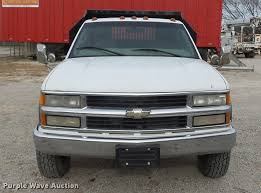 100 2000 Chevy Trucks Chevrolet 3500 Dump Bed Pickup Truck Item DA8505 SO
