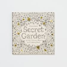 Secret Garden Coloring Book Inspired By The Flora And Fauna Surrounding Her Home In Rural
