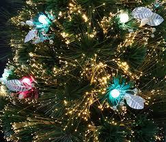Small Tabletop Fiber Optic Christmas Tree by Amazon Com Sparkle Vintage Tabletop Christmas Tree Pre Lit