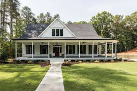 Farmhouse Houseplans Colors The Black And White Stonegate Farmhouse By Garman Homes My