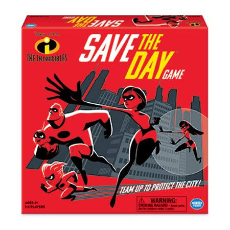 Wonder Forge the Incredible­ Save the Day Game Board