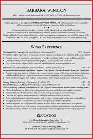Medical Office Assistant Resume Awesome Examples Elegant Fice