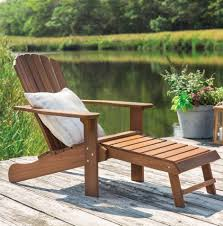 Birch Lane™ Heritage Delatorre Wood Adirondack Chair With Ottoman ... Adirondack Chair Outdoor Fniture Wood Pnic Garden Beach Christopher Knight Home 296698 Denise Austin Milan Brown Al Poly Foldrecling 12 Most Desired Chairs In 2018 Grass Ottoman Folding With Pullout Foot Rest Fsc Combo Dfohome Ridgeline Solid Reviews Joss Main Acacia Patio By Walker Edison Dark Wooden W Cup Outer Banks Grain Ingrated Footrest Build Using Veritas Plans Youtube