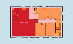 plan maison en l plain pied 3 chambres devis plan construction maison individuelle plain pied grand avignon