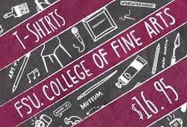 fsu college of fine arts college of fine arts t shirt sale