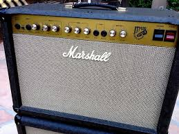 Fender 2x10 Guitar Cabinet by 1997 Marshall Jtm30 2x10 Guitar Amp Combo W 1 X12 Extension Reverb