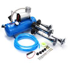 Car Truck Train 6 Liter Tank Air Compressor 4-Trumpet Horn Kit ... Trust The Air Suspension Ride Pros Find Exclusive Deals On Hot Rod Kleinn Harleydavidson Horn Systems Hogkit1 Free Shipping Pro Blaster Triple Train Kit Buff Truck Outfitters Cavalry Charge Musical Tune 12 Volt Stebel Italian Cheap Find Deals Line At Alibacom 100w 12v Car Alarm Police Fire Loud Speaker Pa Siren Mic Heavy Duty And Compressor Aw Direct Denali Soundbomb Split Dualtone Motorcycle Kits Texas Horns By Model Hk1 Dual 6 Liter Tank 4trumpet 8milelake 150db Super Trumpet