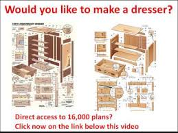 Dresser Valet Woodworking Plans by Dresser Plans Free Would You Like To Make A Dresser Click Here