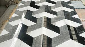 100 Marble Flooring Design China Wholesale Floor Pattern 3D Tile In Black And