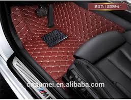 Car Floor Mats by 7d Car Mats Leather Car Floor Mats Car Accessories Buy Leather