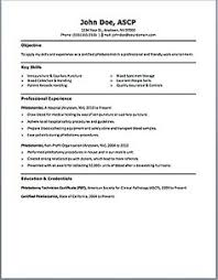 Phlebotomy Resume Includes Skills Experience Educational Background As Well Award Of The