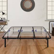 Bed Frame With Headboard And Footboard Brackets by Rest Rite Wood Slat Black Headboard And Footboard Brackets
