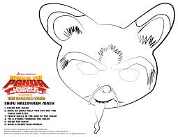 Kung Fu Panda Shifu Halloween Mask