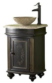 arlington 24 inch square antique bathroom vanity set