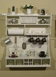 regal wandregal küchenregal shabby chic in möbel wohnen