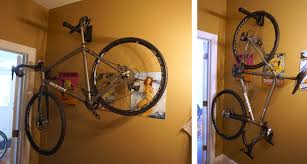 Ceiling Bike Rack Diy by Bikes Diy Bike Shelf Vertical Bike Storage Diy Diy Bike Wall