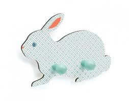 patère chambre bébé patère lapin djeco file dans ta chambre