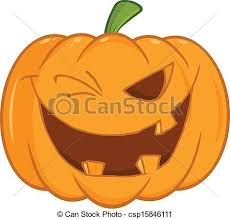 Scary Halloween Pumpkin Coloring Pages by Coloring Page Outline Of A Toothy Halloween Pumpkin Winking Eps