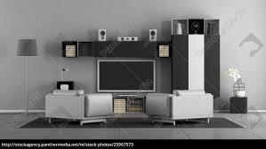 lizenzfreies bild 25967573 schwarz weiß wohnzimmer mit