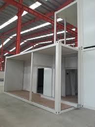100 Container Houses China Modular Prefabricated 20ft40ft House Single Storey