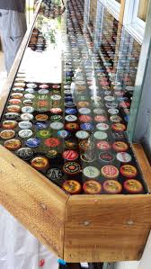 25+ Unique Bottle Cap Table Ideas On Pinterest | Bottle Top Tables ... The Best 28 Images Of How To Make A Bottle Cap Bar Top Virginia Tech Beer Cap Table Timelapse Youtube 25 Diy Bottle Lamps Decor Ideas That Will Add Uniqueness To Your Bar Stools Red Industrial Vibe Man Collects Caps For 5 Years Redo His Kitchen And Unique Ideas On Pinterest Art Homebrewing Fishing Beer W Epoxy Keezer Lid Coffee Rascalartsnyc How Bead Beautiful Tops 45 Cheap Outdoor Top Home