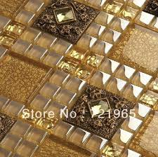 Get Quotations Mirror Glass Tile Backsplash Resin Mosaic 3D Wall Sticker RNMT044 Crystal Blend Tiles