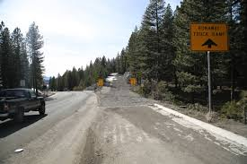 100 Truck Ramp NDOT Starts Project To Enhance Truck Escape Ramp On Mt Rose Highway