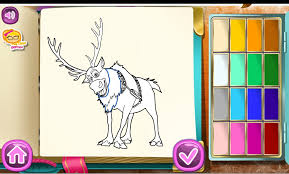 Coloring Book Games Frozen Art Of Disney 100 Images To Inspire Creativity