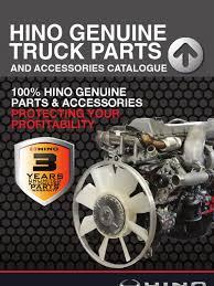 100 Hino Truck Parts Genuine Catalogue Q2 Brake
