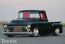 1957 Chevy Stepside Pickup - Black Gold Photo & Image Gallery Check Out This 1950s Chevy Napco Retromod Cversion 1957 Truck Stock Photos Images Alamy Gmc Panel Hot Rod Network Chevrolet Task Force Wikipedia Coe The Panel Truck On The Back Is Fantastic 3800 1 Ton Stake Kromrey Kustoms Performance Quiksilver Genho Zl1 Restomod West Coast Customs Hemmings Find Of Day 100 Daily Vintage Pickup Searcy Ar 4x4 Rust Free Very Cool Project Gmc Rat Rod 12 Ton Van Restored And Rare For Sale Youtube