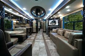 Luxury Rv Interior Most Expensive Fore Travel Motor Coach Camper