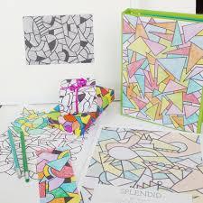 Splendid Downloadable Coloring Book Katie Gebely