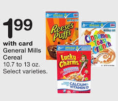 Nice Deal To Grab On Cereal At Wags Starting Next Week