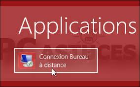 raccourci connexion bureau à distance supprimer les informations enregistrées par la connexion bureau à