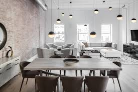 100 Interior Loft Design A TriBeCa Industrial Ed For Entertaining Dcor Aid
