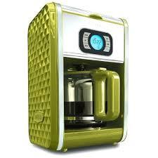 Green Coffee Maker Pot Royal Milk Jug Dots Machine Lime