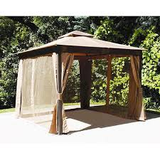Menards 10 x 10 Gazebo Replacement Canopy 272 0629 Garden Winds
