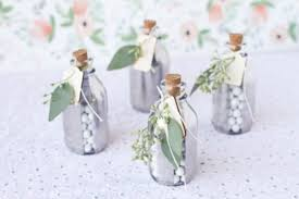 Silver Mirrored Glass Favor Jars Via Weddingomania