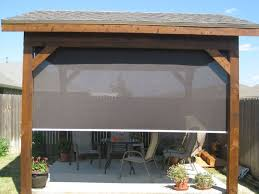 Bamboo Patio Curtains Outdoor by Home Blinds Shutters Roller Shades Patio Shades Solar Screens