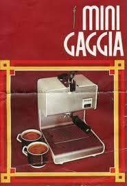 Vintage Gaggia Espresso Machines